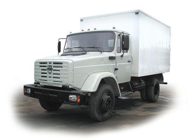 ЗИЛ фургоны на базе шасси ЗиЛ-433112